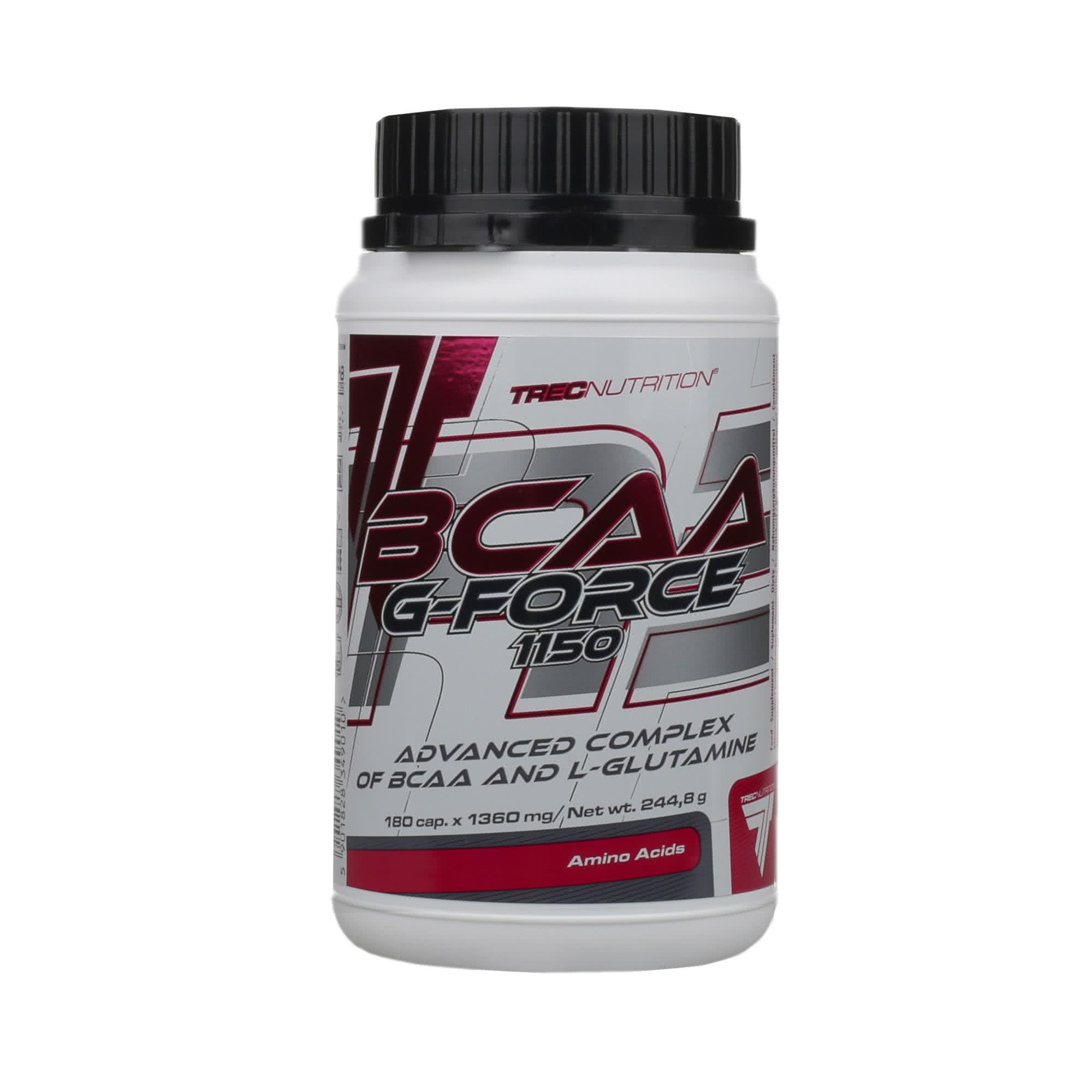 Trec Nutrition BCAA G-Force 1150 180 kap.