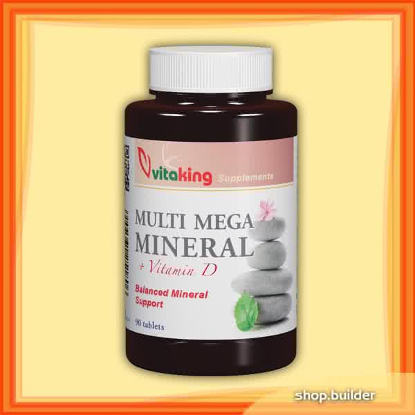 VitaKing Multi Mega Mineral 90 kap.
