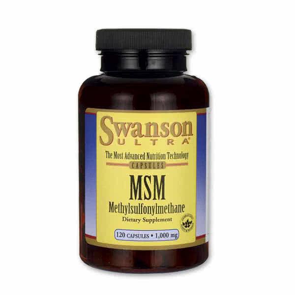 Swanson MSM ultra 120 kap.
