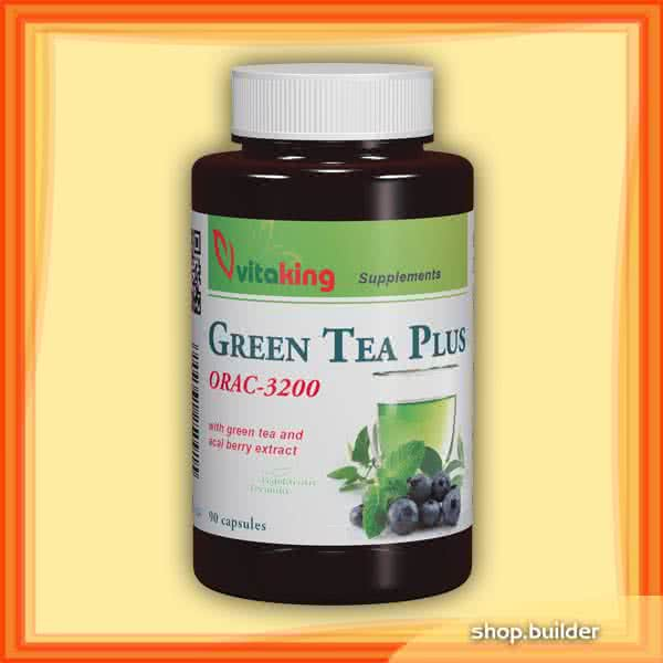 VitaKing Green Tea Plus 90 kap.