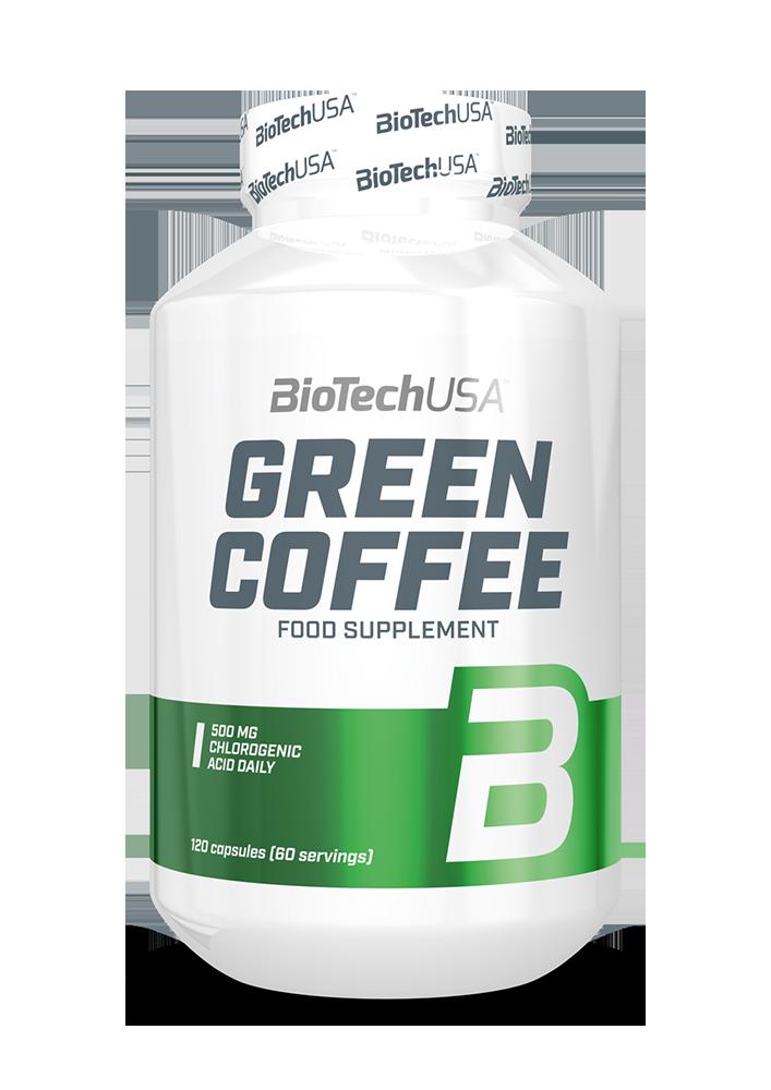 BioTech USA Green Coffee 120 kap.