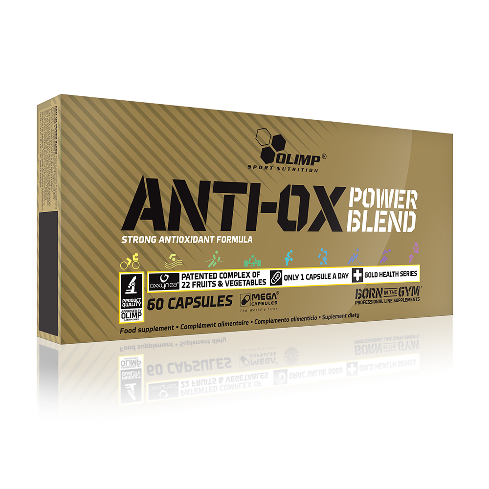 Olimp Sport Nutrition Anti-Ox Power Blend 60 kap.