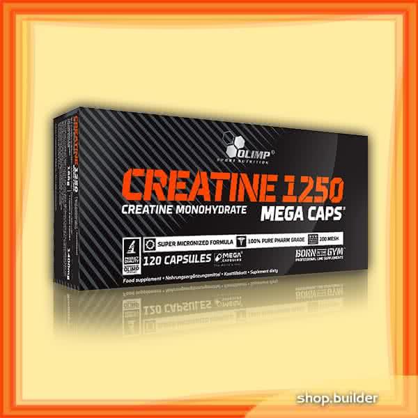 Olimp Sport Nutrition Creatine 1250 Mega Caps 120 kap.