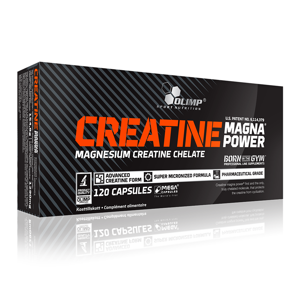 Olimp Sport Nutrition Creatine Magna Power 120 kap.