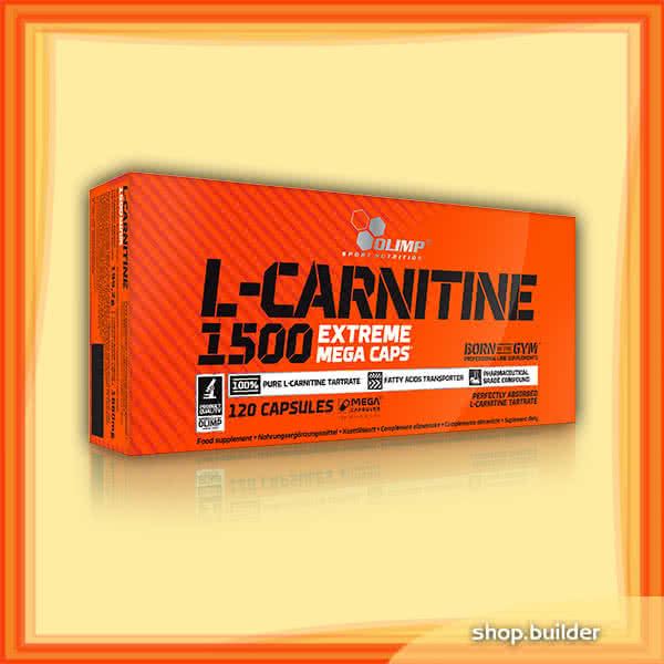 Olimp Sport Nutrition L-Carnitine 1500 Extreme 120 kap.