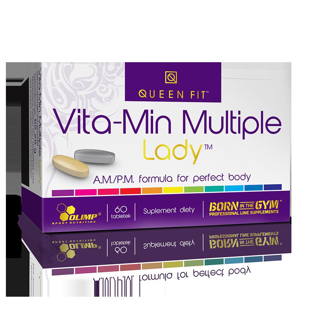 Olimp Sport Nutrition Queen Fit Vita-Min Multiple Lady Vitamin complex 30+30 tab.