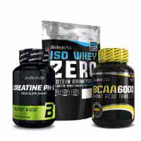 BioTech USA Iso Whey Zero + BCAA 6000 + Creatine PH-X (set)