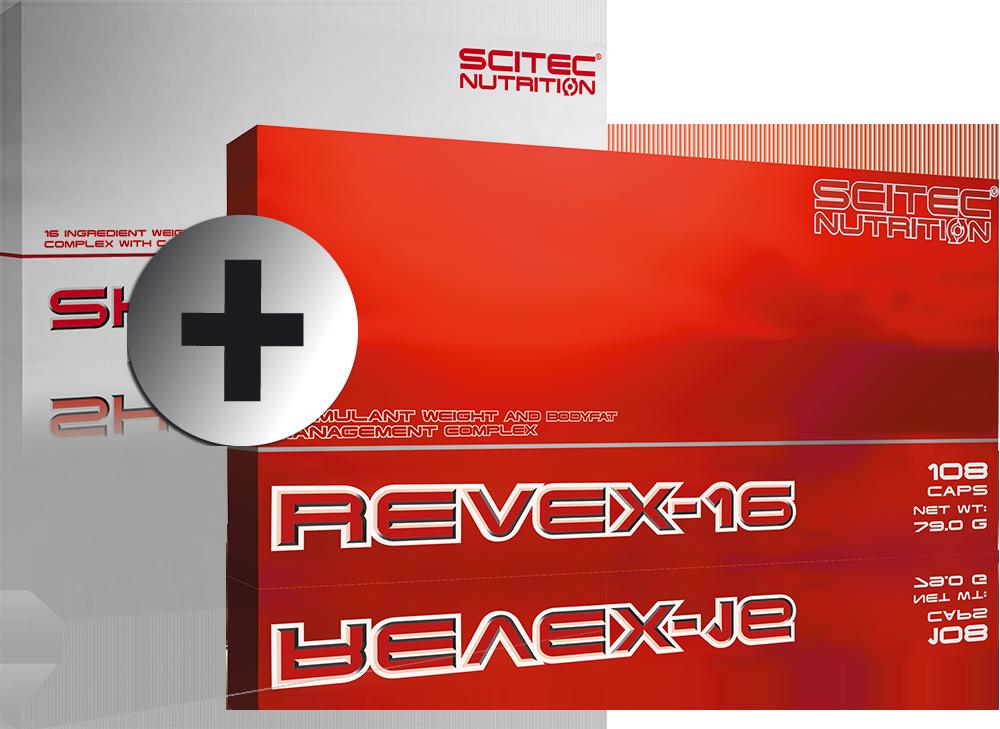 Scitec Nutrition Revex-16 + Shredex set