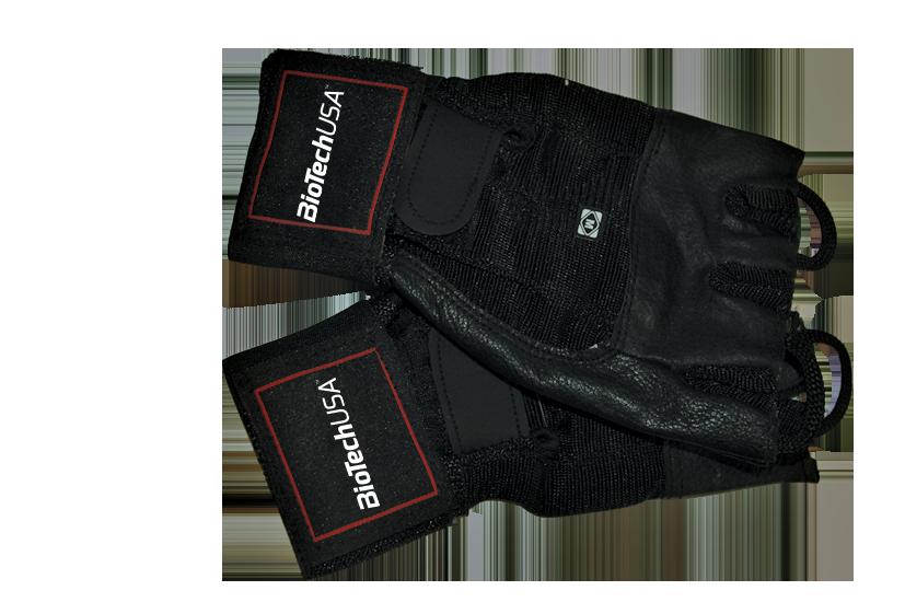 BioTech USA Huston rokavice s trakom za učvrstitev zapestja par