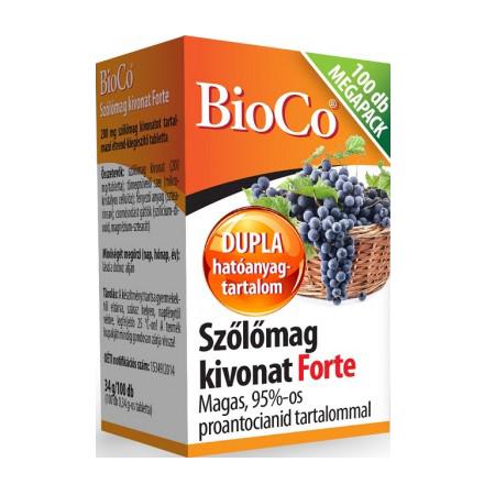 BioCo Izvleček grozdnih semen Forte 100 tab.