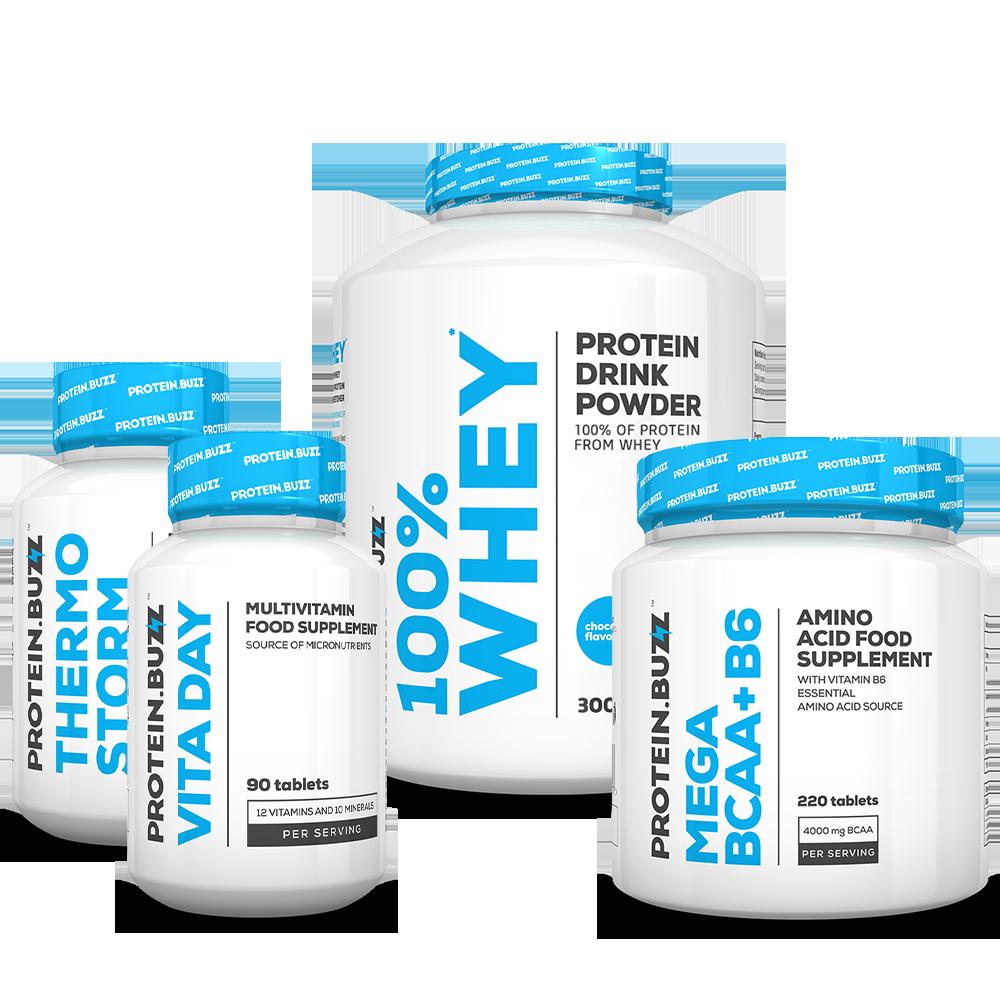 Protein Buzz Get Tones Stack set