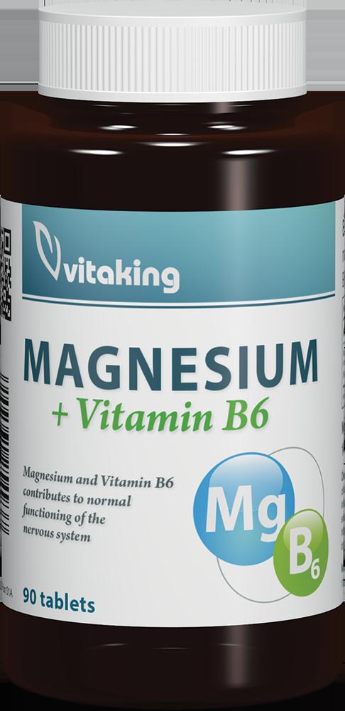 VitaKing Magnesium + Vitamin B6 90 tab.