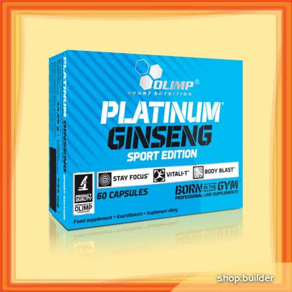 Olimp Sport Nutrition Platinum Ginseng Sport Edition 60 kap.