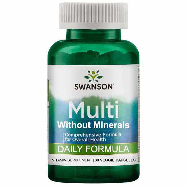 Swanson Daily Multi-vitamin 30 kap.