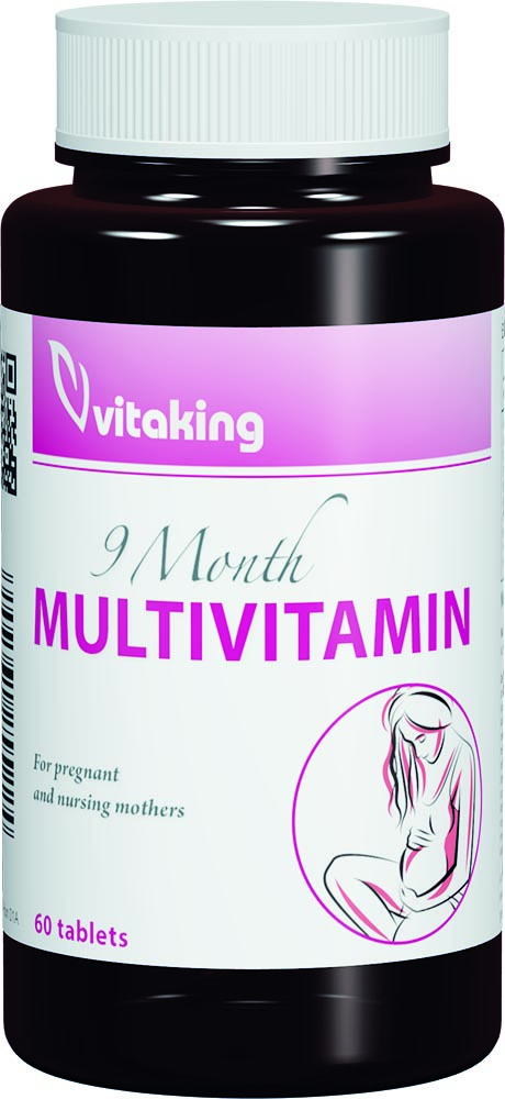 VitaKing 9 Month Multivitamin 60 tab.