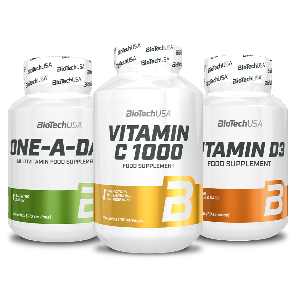 BioTech USA Biotech Zimski paket vitaminov set