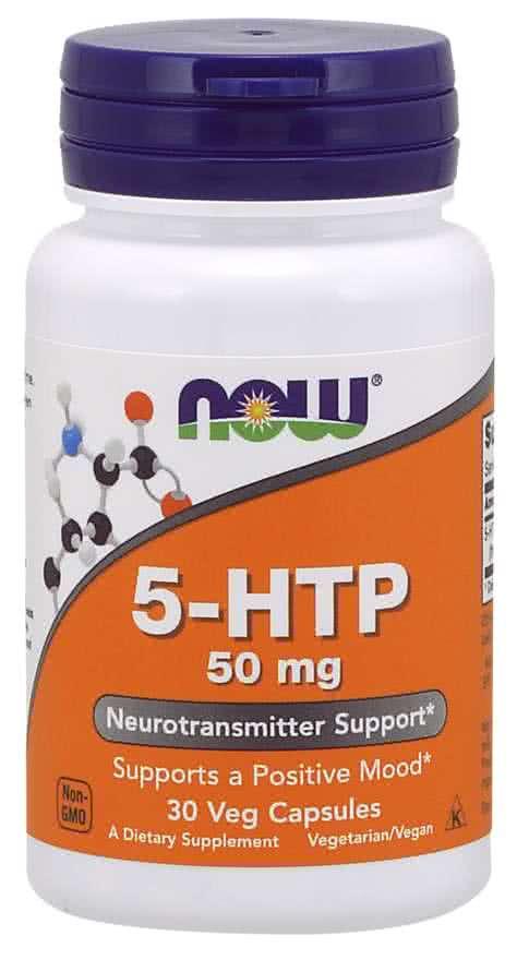 Now Foods 5-HTP 30 kap.