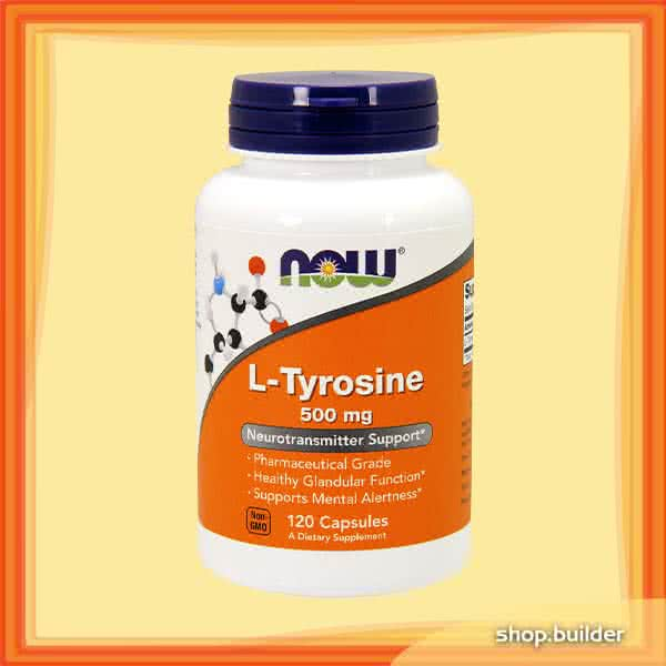 Now Foods L-Tyrosine 120 kap.