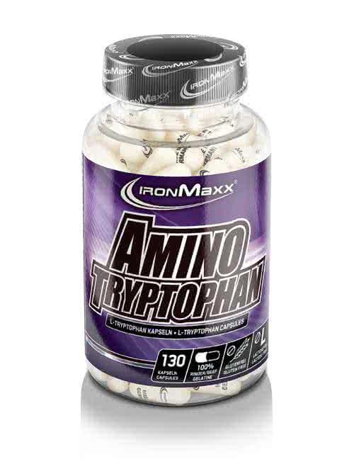IronMaxx Amino Tryptophan 130 kap.