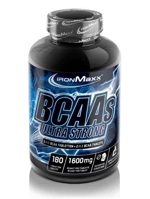 IronMaxx BCAA Ultra Strong 180 tab.