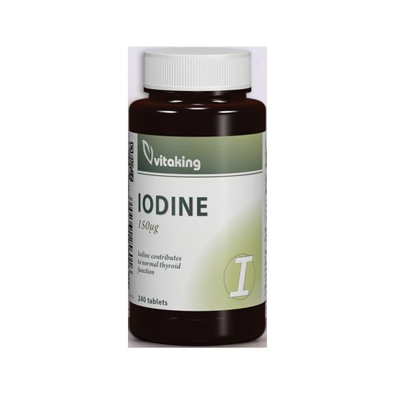 VitaKing Iodine 240 tab.