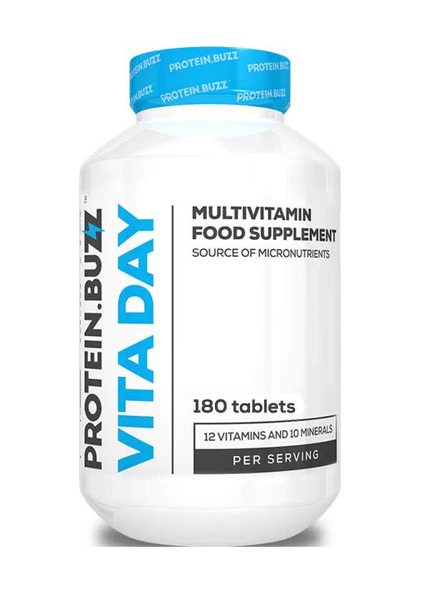Protein Buzz Vita Day 180 tab.