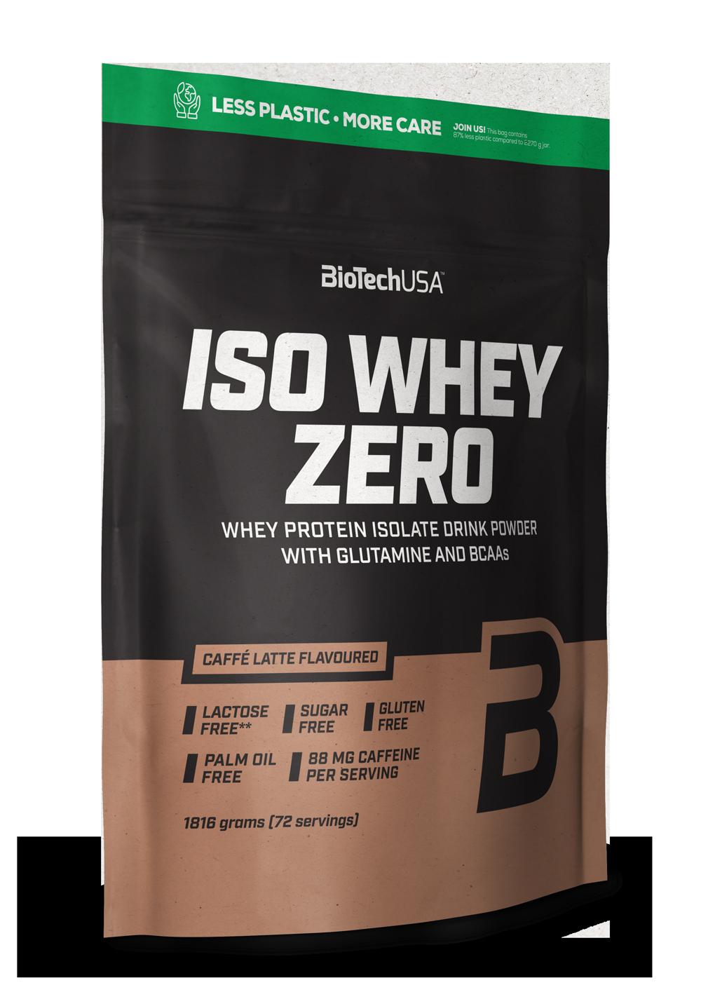 BioTech USA Iso Whey Zero 1,816 kg