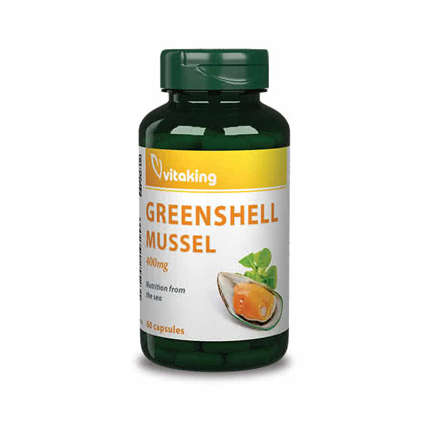 VitaKing Greenshell Mussel 60 kap.