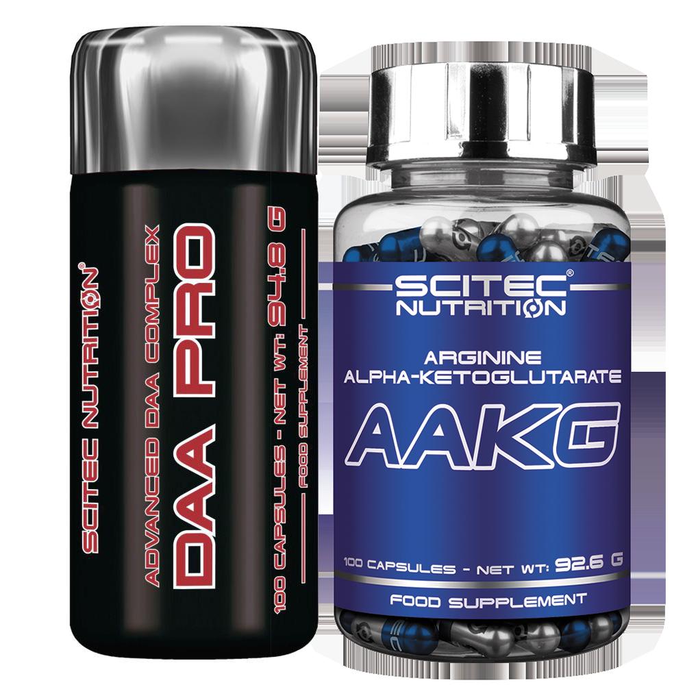 Scitec Nutrition DAA Pro + AAKG set