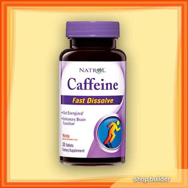 Natrol Caffeine Fast Dissolve 30 tab.