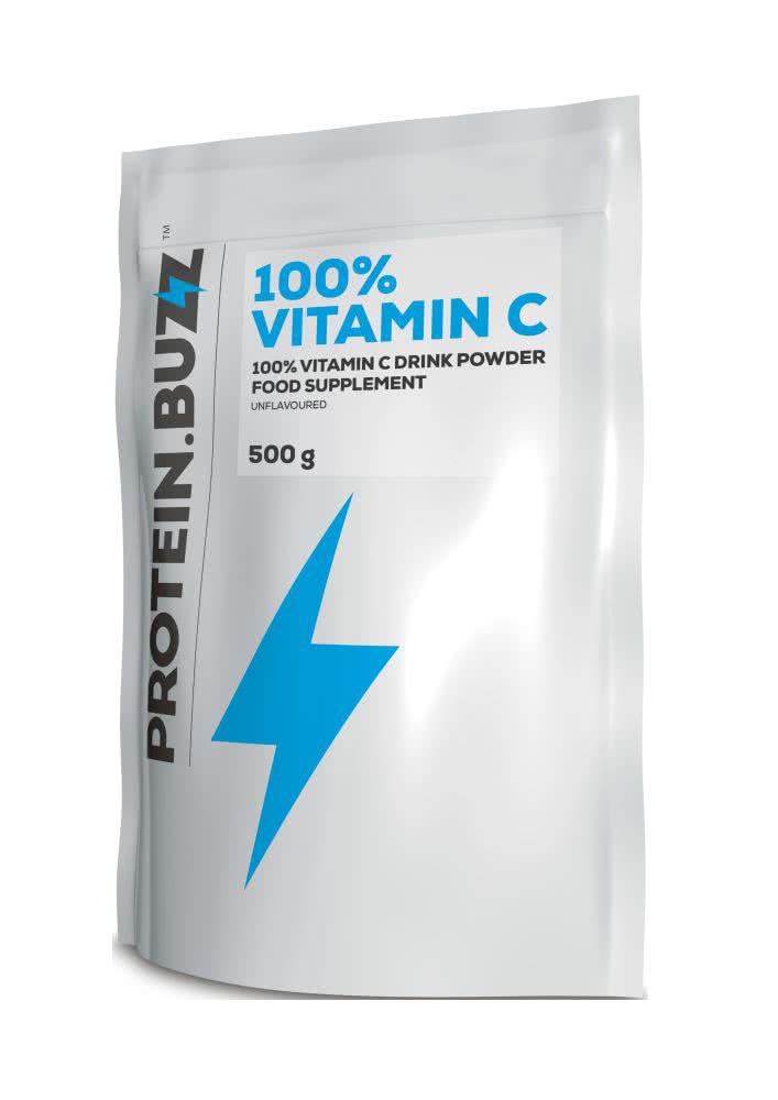 Protein Buzz Vitamin C v prahu 500 gr.