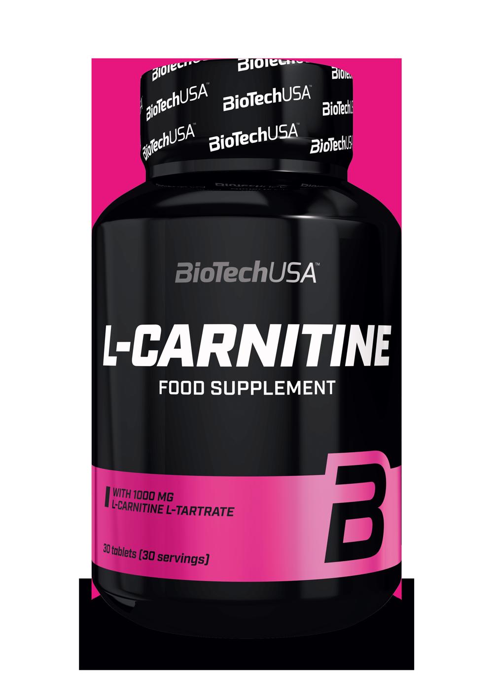 BioTech USA L-Carnitine 1000 30 tab.