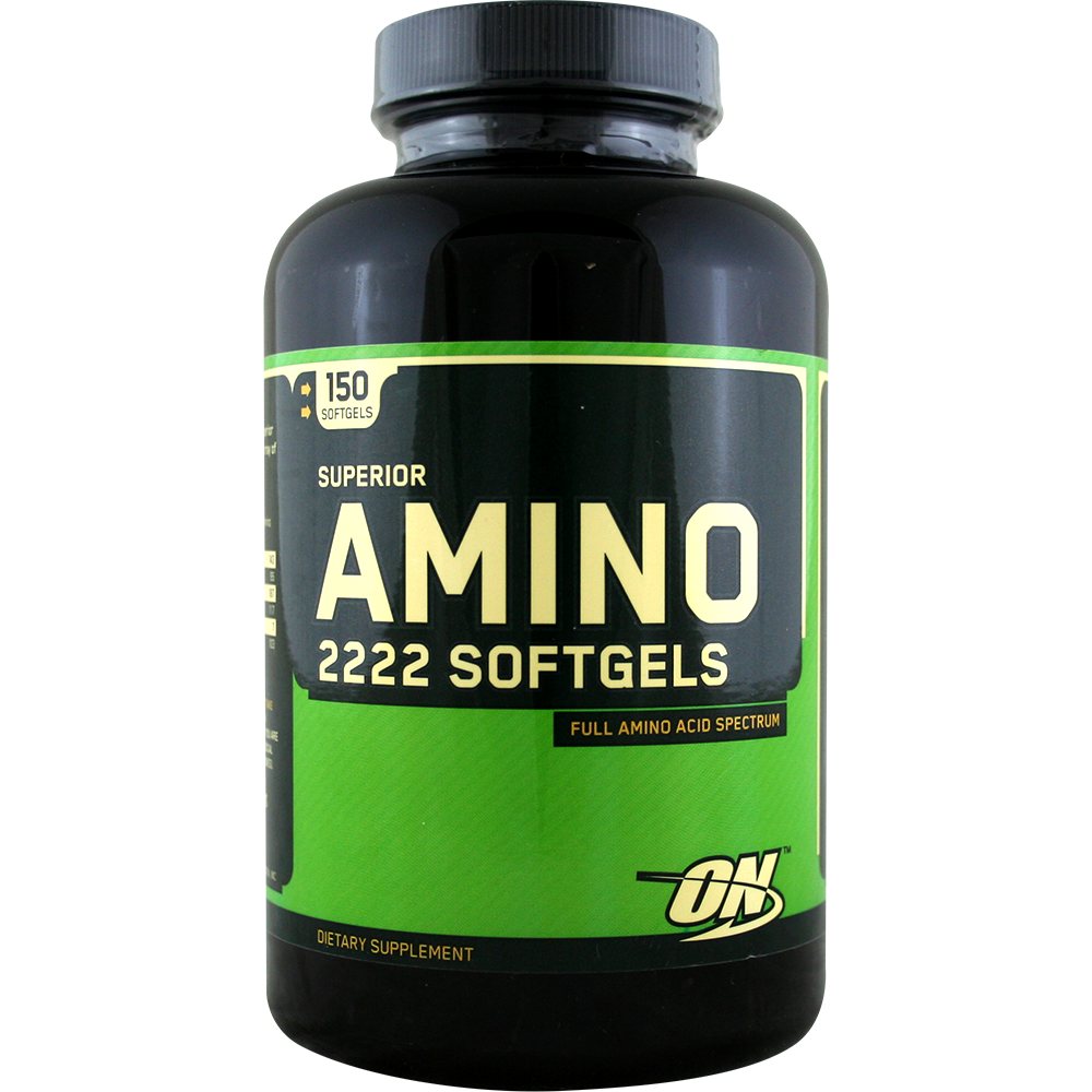 Optimum Nutrition Amino 2222 Softgels 150 g.k.