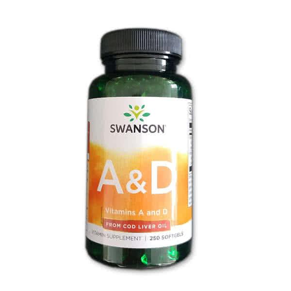 Swanson Vitamins A&D 250 g.k.