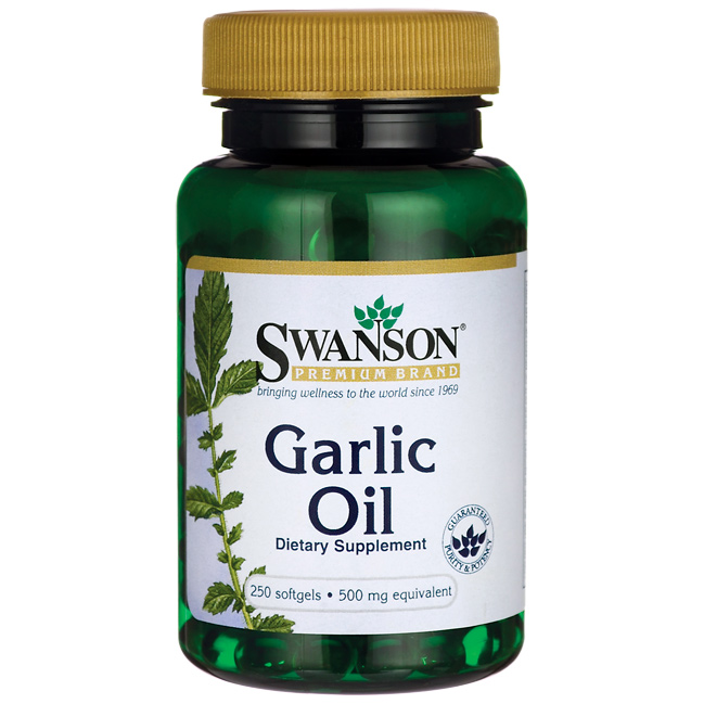 Swanson Garlic Oil 250 g.k.