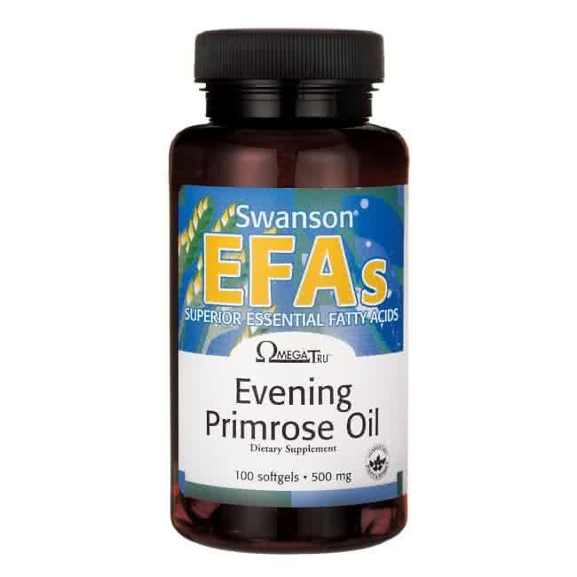 Swanson EFAs Evening Primrose Oil 100 kap.