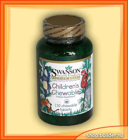 Swanson Childrens Chewable 120 žvečilnih tablet