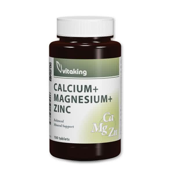 VitaKing CalMag +Zinc 100 tab.