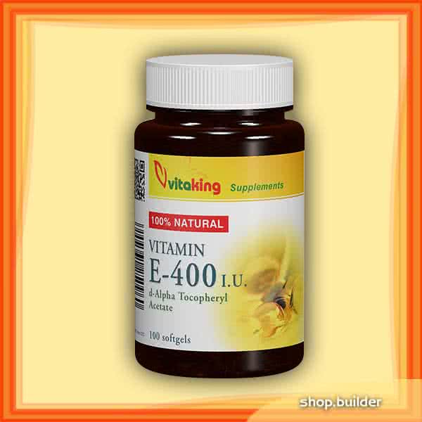 VitaKing Vitamin E-400 100 g.k.