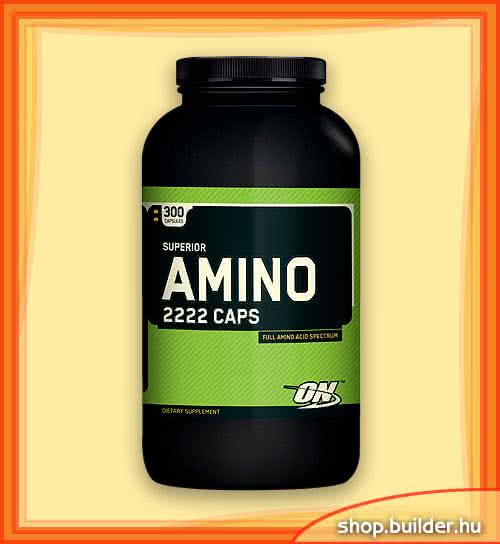Optimum Nutrition Amino 2222 Caps 160 kap.