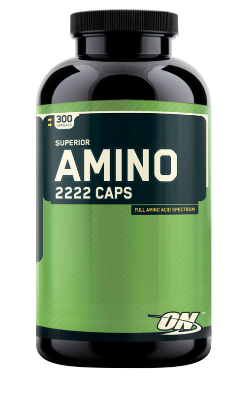 Optimum Nutrition Amino 2222 Caps 300 kap.