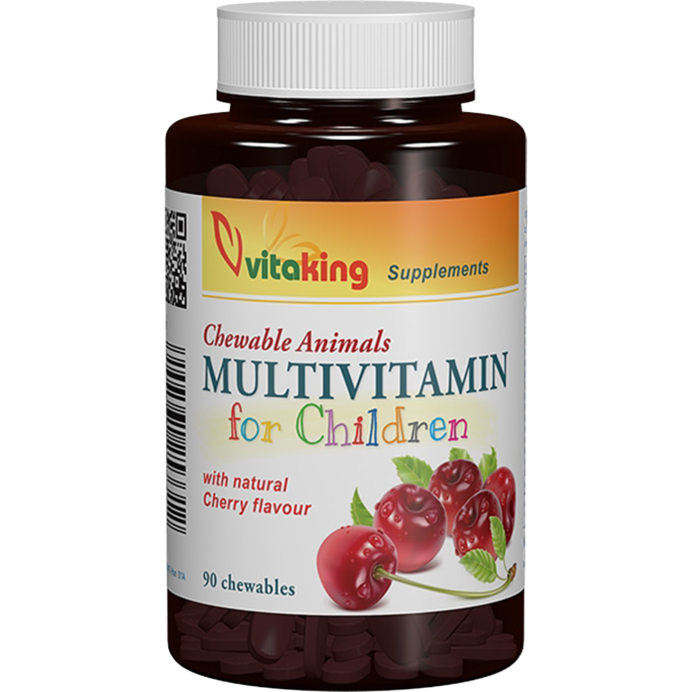 VitaKing Multivitamin for children 90 žvečilnih tablet