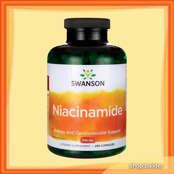 Swanson Niacinamide 250 kap.