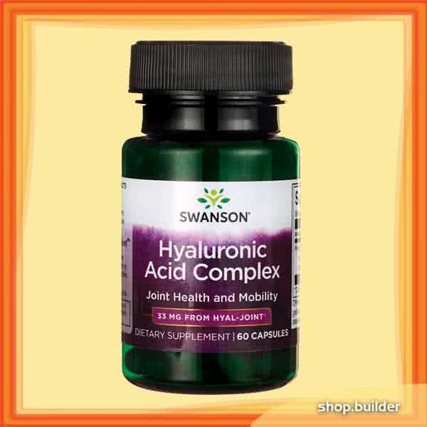 Swanson Hyaluronic Acid Complex 60 kap.