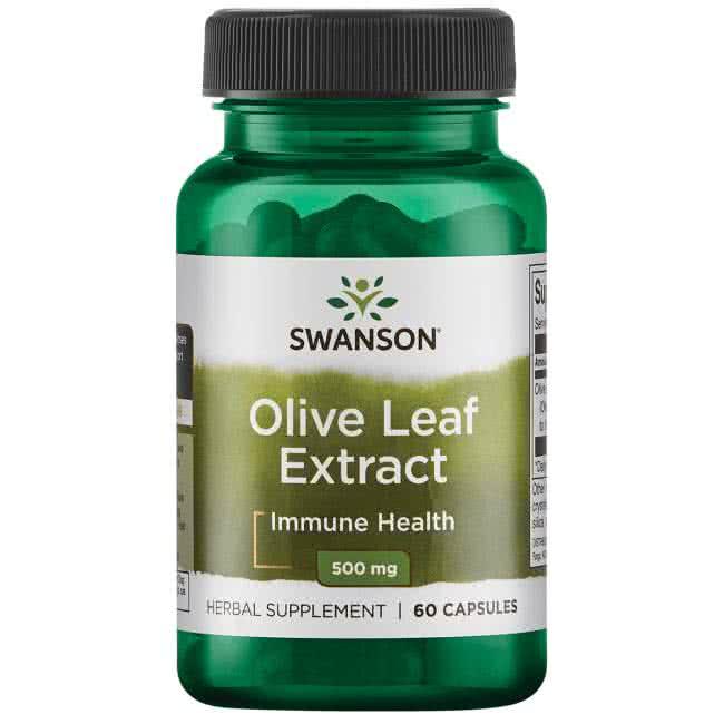 Swanson Olive Leaf Extract 60 kap.