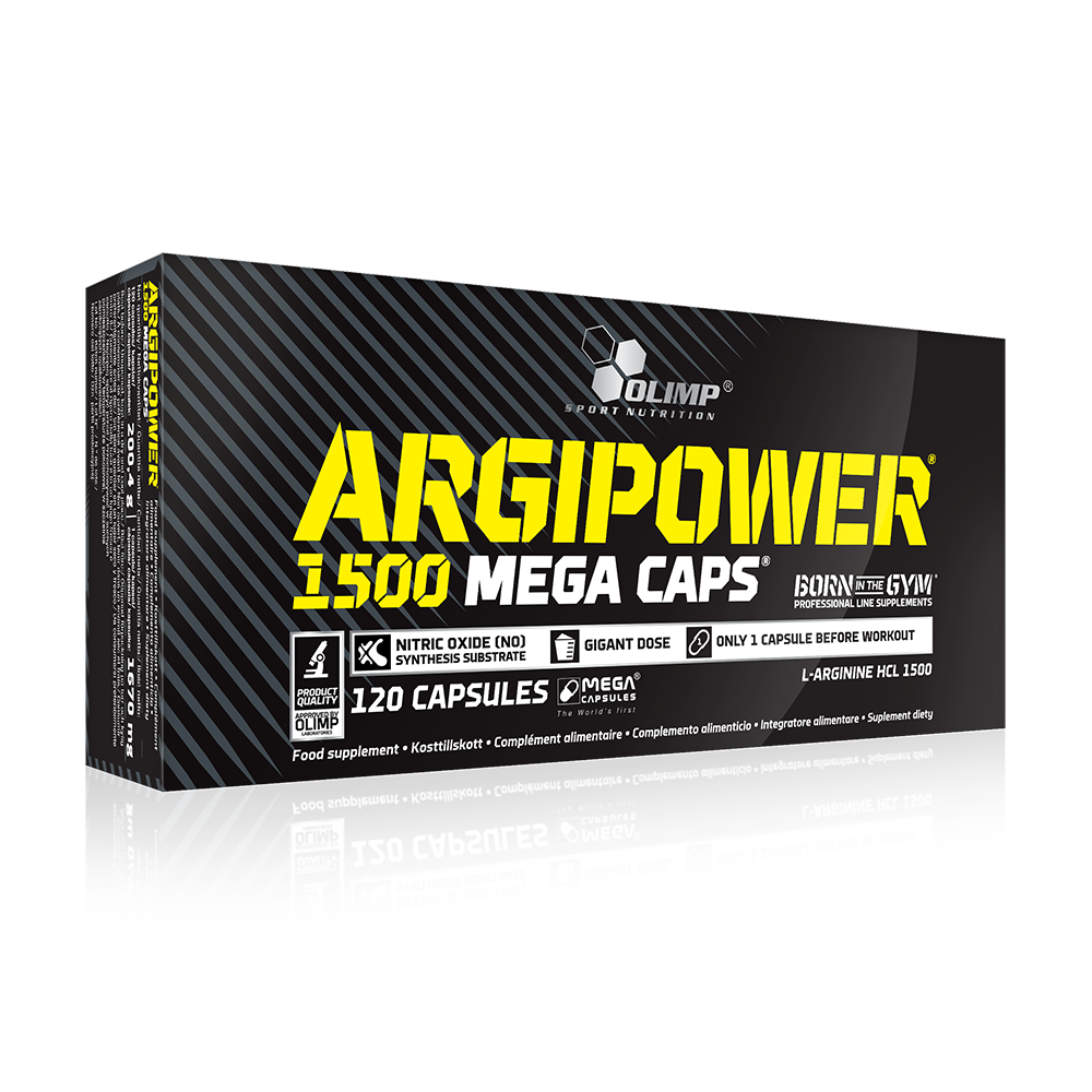 Olimp Sport Nutrition Argipower 1500 Mega Caps 120 kap.