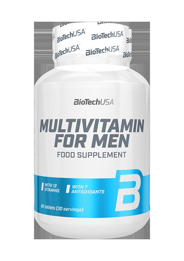 BioTech USA Multivitamin for Men 60 tab.