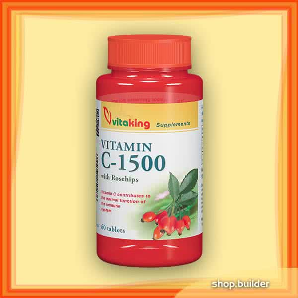 VitaKing Vitamin C-1500 with Rosehips 60 tab