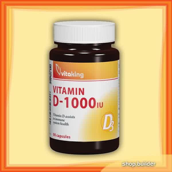 VitaKing Vitamin D-1000 90 kap.
