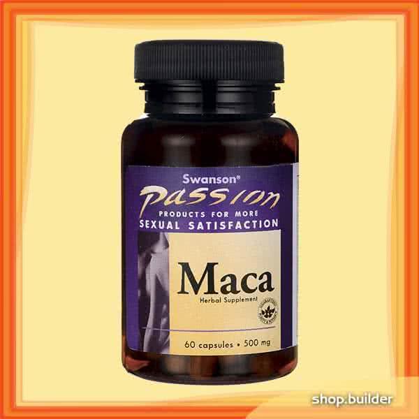 Swanson MACA 500 mg 60 kap.
